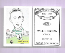 Glasgow Celtic Willie Buchan 13 (FC)